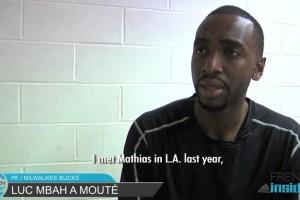 Luc Mbah a Moute à MLV