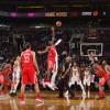 Superbe victoire chez les Suns 142-116 !