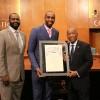 La ville de Houston honore Luc Mbah a Moute