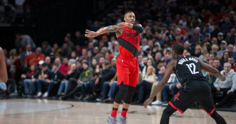 Les Rockets s'imposent dans le money time 124-117 chez les Blazers