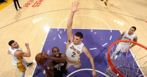 Les Rockets confirment chez les Lakers 118-95