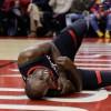 Victoire face aux Hornets mais Luc Mbah a Moute sort sur blessure.