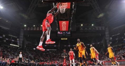 Les Rockets s'imposent dans le money time face aux Jazz