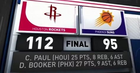 Victoire facile à Phoenix 112-95