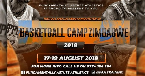 Basketball Camp 2018 au Zimbabwe.