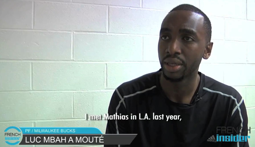 Luc Mbah a Moute to MLV