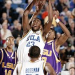 Luc dominated LSU's Glen Big Baby Davis during a 59-45 victory in the NCAA semifinal game