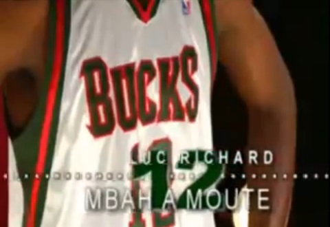 Luc Mbah a Moute Bucks compilation