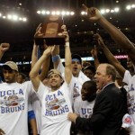 UCLA, champions of their region -- an honor they held for three years in a row during Luc's college career