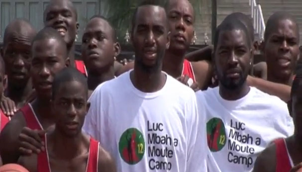 Luc Mbah a Moute Camp 2010