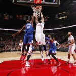 Luc Mbah a Moute 76ers @ Blazers