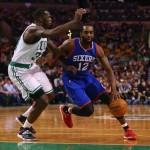 Luc Mbah a Moute Celtics-76ers