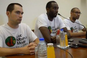 Luc Mbah a Moute Camp 2013 - conférence