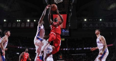 Les Rockets s'inclinent face aux 76ers 107-115