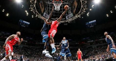 Match 3 : Les Rockets s'inclinent à Minneapolis 121-105