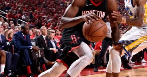 Round 3 Game 1 : les Rockets s'inclinent face aux Warriors 119-106