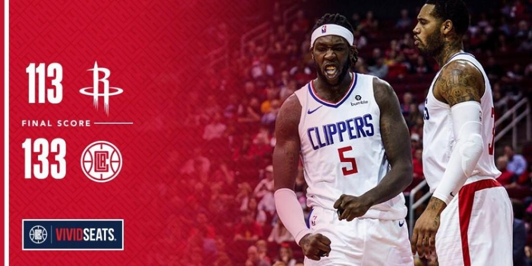Victoire 133-113 chez les Rockets
