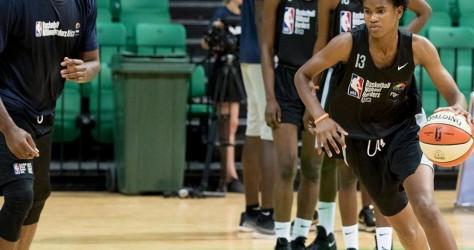 Luc Mbah a Moute présent au Basketball Without Borders Afrique 2019 au Sénégal et au NBA Africa Innovation Summit.